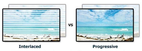 picture quality 1080p vs 1080i interlaced